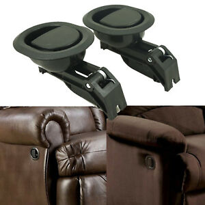 2Pcs Oval Recliner Sofa / Chair Couch Durable Release Lever Handle Hard Plastic