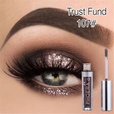 Metallic Liquid Eyeshadow Glow Glitter Eyeliner Gel Longlasting Eye Cosmetic