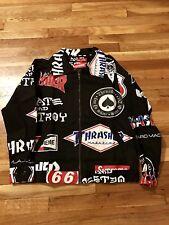 Supreme Thrasher Fear Of Fog God Shirt Jacket Size Large Patches Denim Jeans