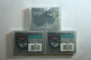 Mini Data Cartridges DC 2120 QIC-80 Format (3) NEW Sealed Lot Verbatim Fujifilm
