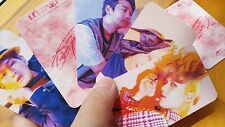 SHINEE PHOTO CARD ((003)) - VERSION <G>, <H> -allof10 - SM KEY jonghyun ONEW /a