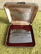 Vintage Maruman Lighter & Case