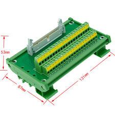 IDC40 40pin Header Breakout Board Terminal Block Connector PLC adapter Interface
