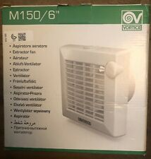 """Vortice Extractor Fan 11856 M 150/6"""" AP With Pull Cord And Shutter BNIB"""