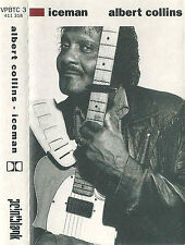 Albert Collins ‎Iceman CASSETTE ALBUM Texas Blues Pointblank VPBTC 3 UK 1991