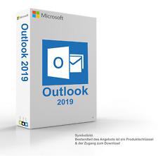 MS Microsoft Outlook 2019 1PC Original 64/32-Bit Vollversion für Windows 10