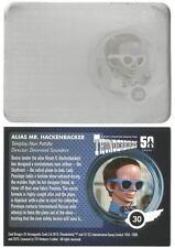 Thunderbirds 50 Years Printing Plate for Base Card #30 Mr Hackenbacker [ back]