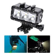 REGNO Unito IMMERSIONE SUBACQUEA IMPERMEABILE LED LUCE SPOT Mount Per XiaoMi Yi 2 4K Camera