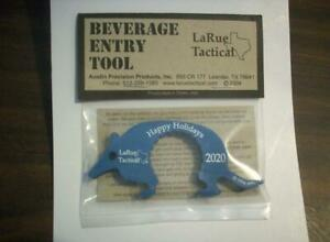 LaRue Beverage Entry Tool Limited Edition Happy Holidays 2020 Dillo New