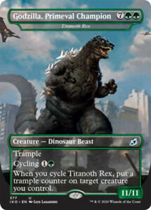 Godzilla, Primeval Champion - Titanoth Rex - Foil x1 Magic the Gathering 1x Ikor