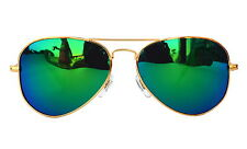 Sunglass in Aviator Style  In Royal MIrror Shade  (In Case & Wiping (Goggles)