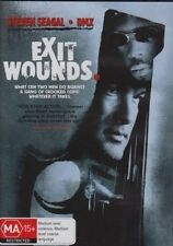 EXIT WOUNDS Steven Seagal, DMX DVD NEW