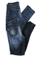 Current/Elliott Genetic Womens Straight Leg Skinny Jeans Blue Size 27 Lot 2
