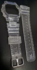 g-shock  DW5600 transparent clear jelly bezel and strap
