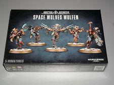 Warhammer 40K SPACE WOLVES WULFEN Box Set! Brand New+Sealed!