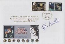 EDGAR ED MITCHELL Signed Ltd Ed FDC APOLLO 14 Mission, 6th MAN ON MOON COA