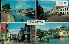 C7108ryt UK Lymington Multiview postcard
