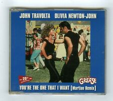 MAXI CD OST GREASE YOU'RE THE ONE THAT I WANT(MARTIAN REMIX) 20TH ANNIVERSARY