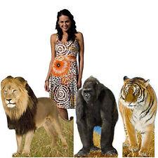 Jungle Animal Standee Set  lion, tiger and gorilla Cutouts,School Safari