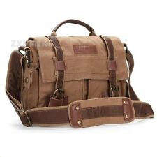 DSLR SLR Canvas Camera Shoulder Bag for Nikon D3300 D810 D5500 D750