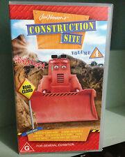 Construction Site Vol 4  - Jim Henson - VHS