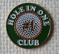 """Very Cool """"Hole in One Club"""" Golf Ball Marker - Join the club!"""