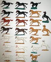 TIMPO TOYS - verschiedene Pferde für Cowboy Ritter Mexikaner Apache -Horse Pferd