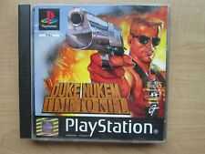 Playstation 1 - Duke Nukem Time to Kill - Manual INCLUDED