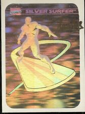 UNIVERSAL MONSTERS-MARVEL-HOLOGRAM-MH3-SILVER SURFER-STAN LEE-SIGNED CARD-RARE