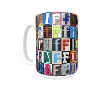 GRIFFIN Coffee Mug / Cup featuring the name in photos of sign letters