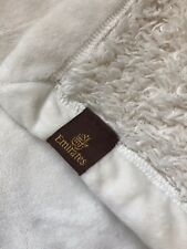 Emirates First Class Faux Sheep Skin Blanket Brand New