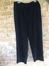 Graff Women's Black Stretch Pants Size 18