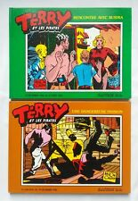 Lot BD - Terry et les pirates 2 & 4 / Burma - Passion / EO / CANIFF / SLATKINE