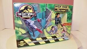 NIB Jurassic Park Lost World High Hide Dino Observation Stand-NEW IN BOX! NICE!