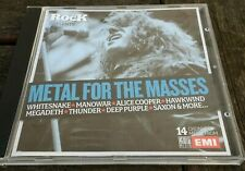 CLASSIC ROCK - Metal For The Masses. CD.