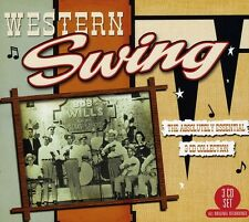 Western Swing: The Absolutely Essential 3 Cd Colle (2011, CD NIEUW)