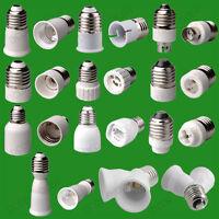 Screw ES Light Bulb Socket to E14 E27 B22 MR16 GU10 G9 Lamp Adaptor Converter