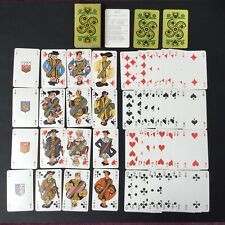 MATEJA Jeu de Cartes A Jouer BRETAGNE 1960 Vintage Design Playing Cards