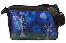 Whimsical Trees Messenger Bag - Support  Wildlife Conservation - From my Paintin
