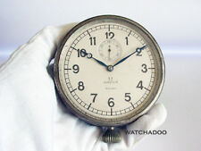 Rare Vintage 1920 30s Omega Watch car cockpit dash clock with 8 days movement
