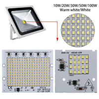 30W 50W 100W High Power Floodlight LED Chip Beads  SMD2835 Smart IC Driver Lamp