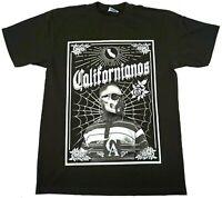 CALIFORNIA T-shirt Cali Republic Hispanic Heritage Californianos Men's Tee New