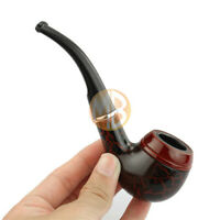 Wooden Smoking Pipe Tobacco Cigarettes Cigar Pipes Solid Wood Unique Gift