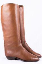 Vintage Stiefel 39 Delia cognac leather boots Italy Boho Hippie Blogger
