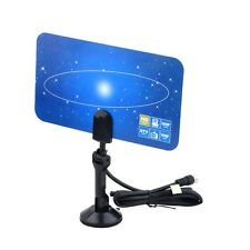 Digital Indoor TV Antenna HDTV DTV Box Ready HD VHF UHF Flat Design High Gain B8