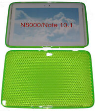 "Pattern Gel Case Protector Cover Green For Samsung Galaxy Note 10.1"" N8000 N8010"