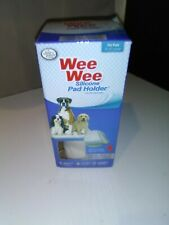 WEE-WEE Products Silicone Pad Holder by Four Paws