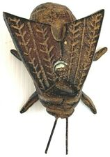 Metal Fly Figure Insect Statue Vintage Patina Solid