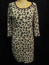 Velvet By Graham & Spencer Leopard Print Sweater Dress P