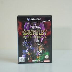 Gauntlet Dark Legacy - Nintendo GAMECUBE  Wii Compatible Video Game